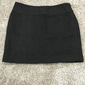 Black Tweed Skirt from The Limited